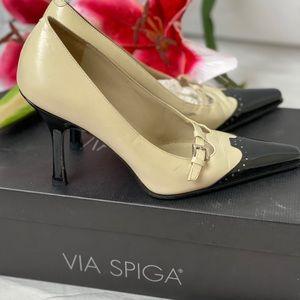 Via Spiga Shoes - ✨Fancy Viga Spiga Patent heel